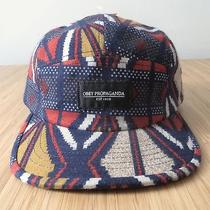 Nwt Urban Outfitters Obey Propaganda Colorful Abstract Tribal Print Hat Cap Navy Photo