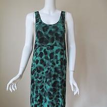 Nwt Urban Outfitters Silence Noise Green See Through Back Stretch Dress S Photo
