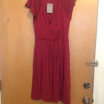 Nwt Velvet Anthropologie Red Dress Sz L Photo