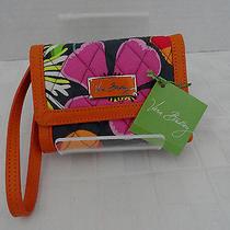 Nwt Vera Bradley Anniversary Wallet Wristlet Jazzy Blooms - Retail 68 Free Ship Photo