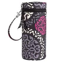 Nwt Vera Bradley Baby Bottle Caddy Carrier Holder Canterberry Magenta Gift Photo