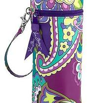 Nwt Vera Bradley Baby Bottle Caddy in Heather Water Wipeable Bag 12763 144 Co Photo