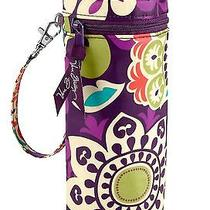 Nwt Vera Bradley Baby Bottle Caddy in Plum Crazy Water Wipeable Bag 12763 137 Co Photo