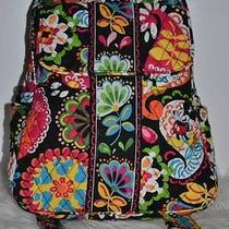 Nwt Vera Bradley Backpack Disney Collection Midnight With Mickey Limited Photo