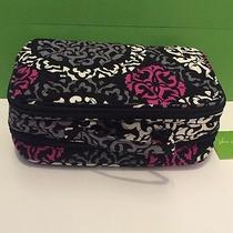 Nwt Vera Bradley Blush and Brush Makeup Case in Canterberry Magenta Photo