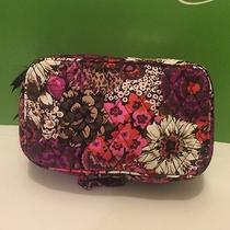 Nwt Vera Bradley Blush and Brush Makeup Case in Rosewood Photo