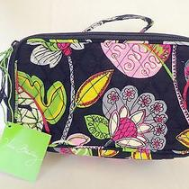 Nwt Vera Bradley Blush and Moon Blooms Cosmetic Case Photo
