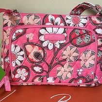 Nwt Vera Bradley Blush Pink Little Hipster Crossbody Handbag Bag Cards Iphone 6 Photo