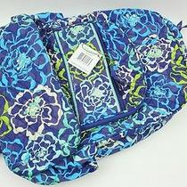 Nwt Vera Bradley Campus Backpack Bag in Katalina Blues Photo