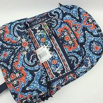 Nwt Vera Bradley Campus Backpack Bag in Marrakesh Photo