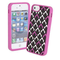 Nwt Vera Bradley Canterberry Magenta Soft Frame Case for Iphone 5 Photo