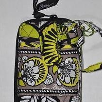 Nwt Vera Bradley Carry It All Wristlet in Citron Cell Iphone Photo