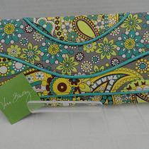 Nwt Vera Bradley Clutch Lemon Parfait Handbag Retail 48 Free Shipping Photo
