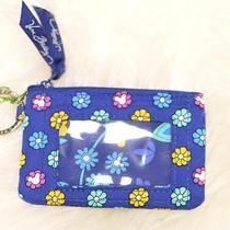 Nwt Vera Bradley Disney Mickey and Minnie Mouse Dreaming Zip Id Coin Case Wallet Photo