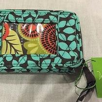 Nwt Vera Bradley Disney Smartphone Wristlet Mickey's Perfect Petals 1 Photo
