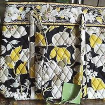 Nwt Vera Bradley Dogwood Holiday Tote - Limited Edition  Photo