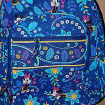 Nwt Vera Bradley Dreaming Disney  Campus Backpack Disney Mickey Minnie Photo
