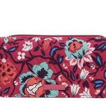 Nwt Vera Bradley Factory Rfid Wallet Crossbody Handbag Bloom Berry Retails 69 Photo