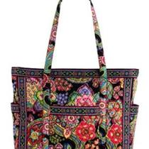 Nwt Vera Bradley Get Carried Away Tote in Symphony in Hue Photo