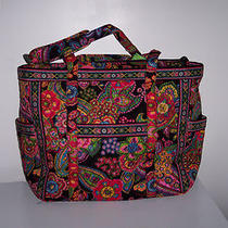 Nwt Vera Bradley Get Carried Away Tote - Symphony in Hue Photo