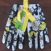Nwt Vera Bradley Gloves - Dogwood Pattern - Size M/l Photo