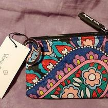 Nwt Vera Bradley Haymarket Paisley Zip Id Case Photo