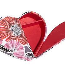 Nwt Vera Bradley Heart to Heart Jewelry Case Box - Cheery Blossoms  Photo