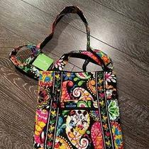 Nwt Vera Bradley Hipster Bag in Midnight With Mickey Print Free Shipping Photo