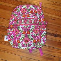 Nwt Vera Bradley Laptop Backpack Lilli Bell Photo