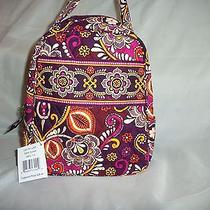 Nwt Vera Bradley Let's Do Lunch in Saffari Sunset - Lunch Bag Photo