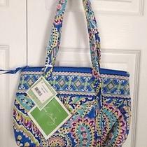 Nwt Vera Bradley Little Betsy Purse  Bag Capri Melon Blue Retired Great Gift Photo