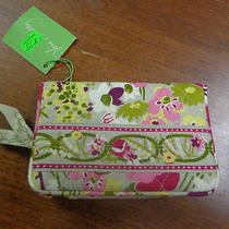 Nwt Vera Bradley Make Me Blush One for Money Wallet Photo