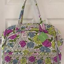 Nwt Vera Bradley Metropolitan in Watercolor Laptop Bag Photo