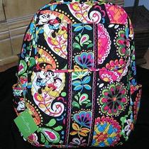 Nwt Vera Bradley Midnight With Mickey Backpack Disney Parks R2 Photo