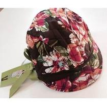 Nwt Vera Bradley Newsgirl Hat in English Rose One Size Fits Most 12489-133 Photo