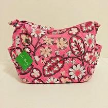Nwt Vera Bradley on the Go Crossbody Handbag in Blush Pink Photo