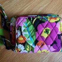 Nwt Vera Bradley on the Square Wristlet Wallet in Va Va Bloom 2012 Pattern Photo