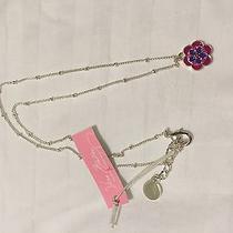 Nwt Vera Bradley Pink Swirls Necklace Photo