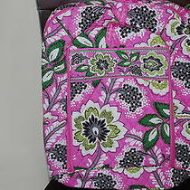 Nwt Vera Bradley Priscilla Pink  Laptop Backpack  Photo