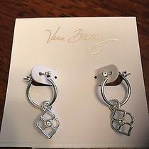 Nwt Vera Bradley Signature Charm Earrings Photo