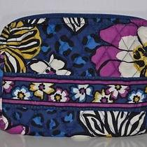 Nwt Vera Bradley Small Cosmetics in African Violet Jewelry Fast Shipping Photo