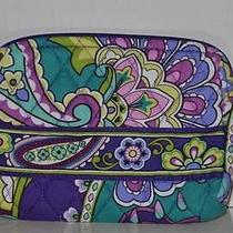 Nwt Vera Bradley Small Cosmetics in Heather Jewelry Fast Shipping Photo
