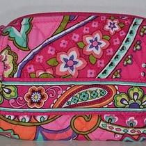 Nwt Vera Bradley Small Cosmetics in  Pink Swirls Jewelry Fast Shipping Photo