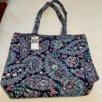 Nwt Vera Bradley Tote in French Paisley Msrp 60.00 Photo