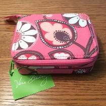 Nwt Vera Bradley Travel Pill Case Organizer in Blush Pink Photo