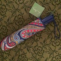 Nwt Vera Bradley Umbrella in Marina Paisley Rare Retired Print Photo