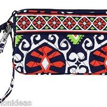 Nwt Vera Bradley Wristlet in Sun Valley Zip Wallet Bag Purse 12180 139 Co Photo