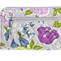 Nwt Vera Bradley Zip Around Wallet / Clutch in Watercolor Clutch  Rare Design Photo