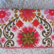 Nwt Vera Bradley Zip Around Wallet  Folkloric Photo