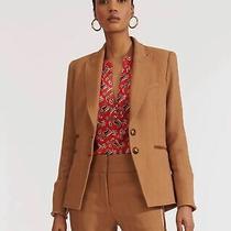 Nwt Veronica Beard Hudson Khaki Camel Size 10 Dickey Jacket Blazer Sold Out 750 Photo
